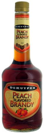 Dekuyper Brandy Peach Flavored 70@